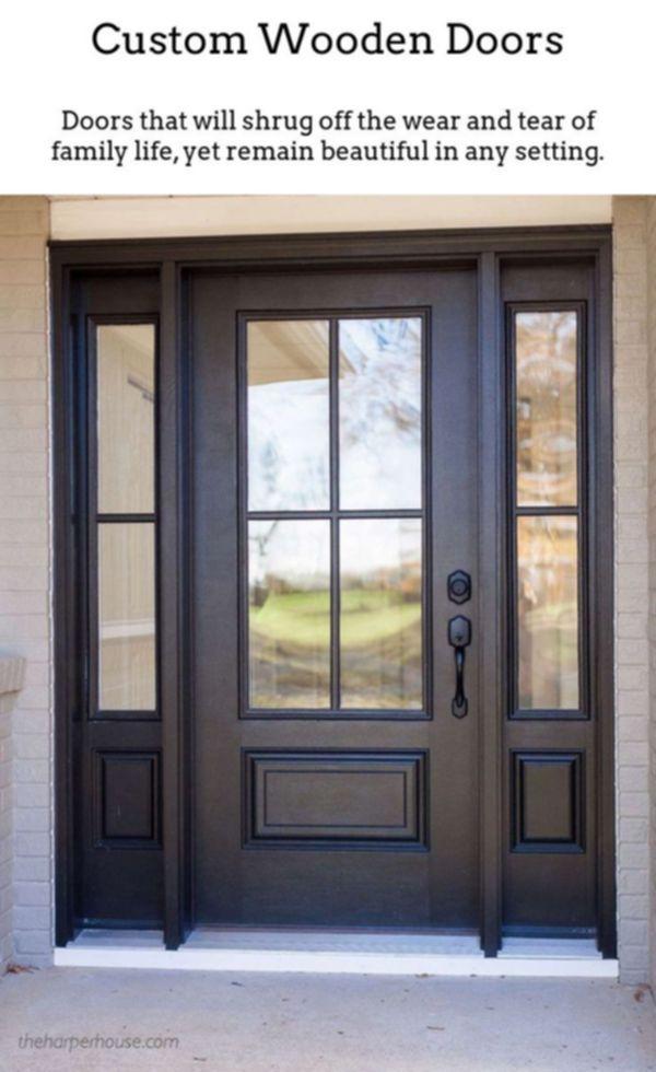 Wooden Doors For Sale Sliding Glass Doors One Panel Interior
