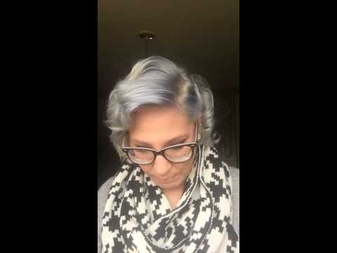 Silver Hair With Wella 050 Cooling Violet Hair Love Silver
