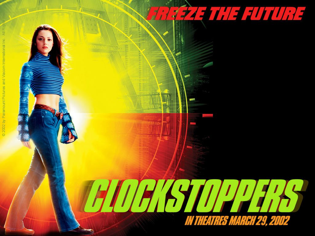 Clockstoppers Francesca Wallpaper 2002 Movies Movie Posters Image