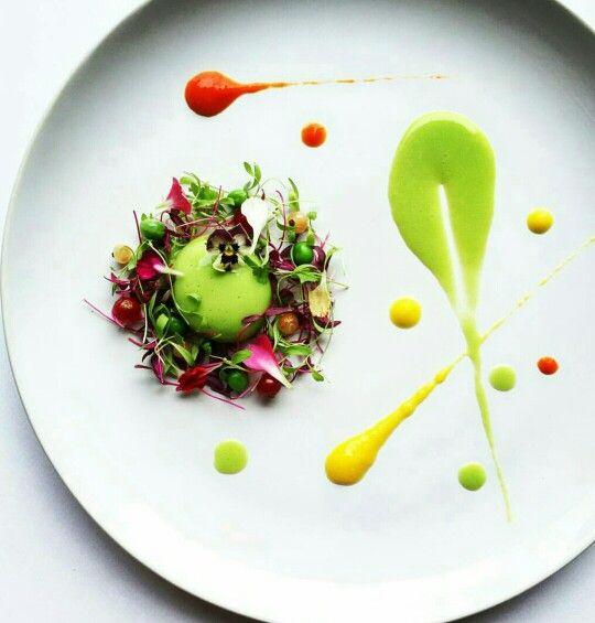 Pin de aida martinez sanz en cocina presentaciones pinterest for Comida vanguardia
