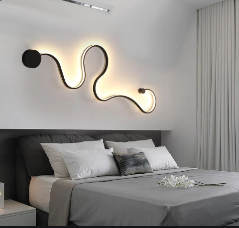 Creative Wall Light Led Bedroom Decoration Living Room Decoration Corridor Wall Decor In 2020 Interior Design Bedroom Bedroom Decor Bedroom Interior