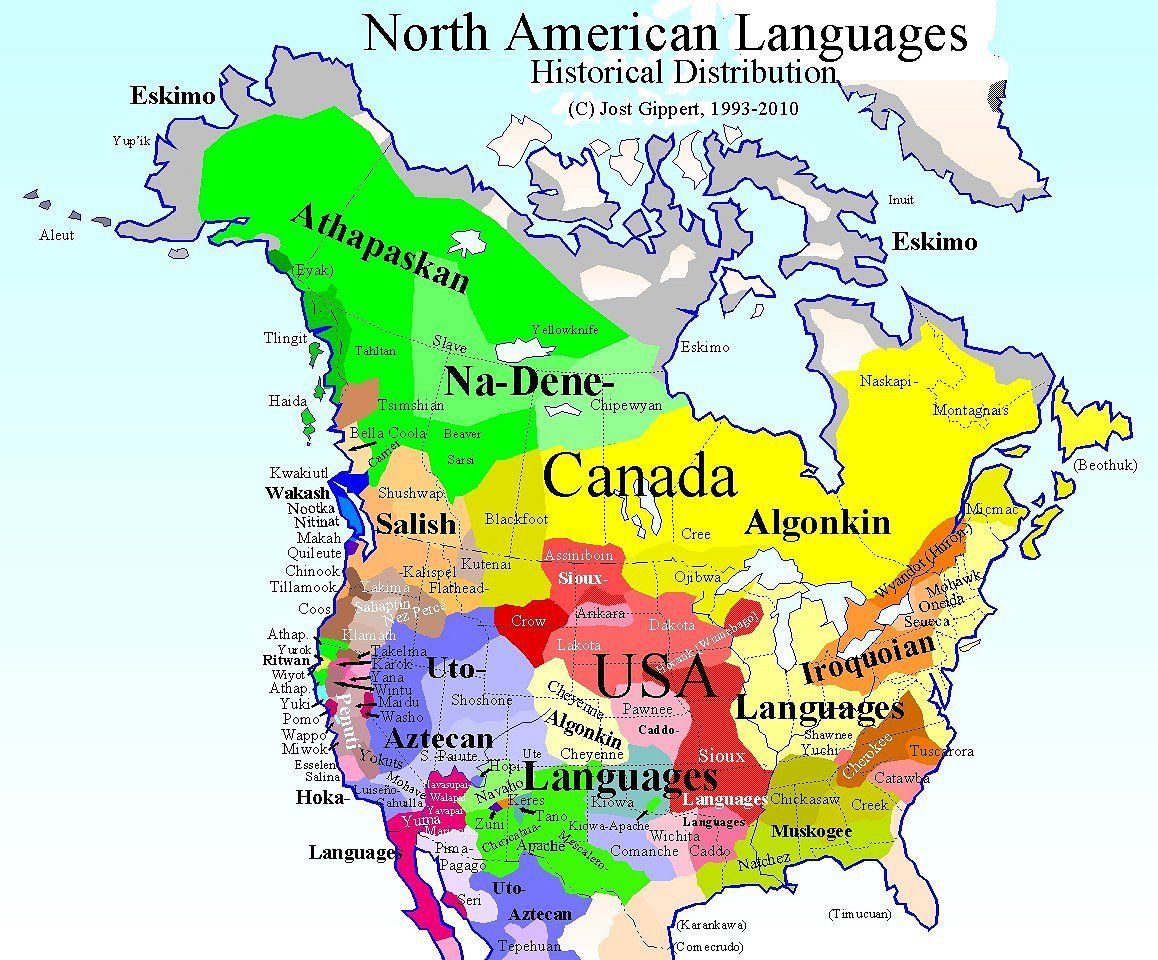 Maps Of Native America