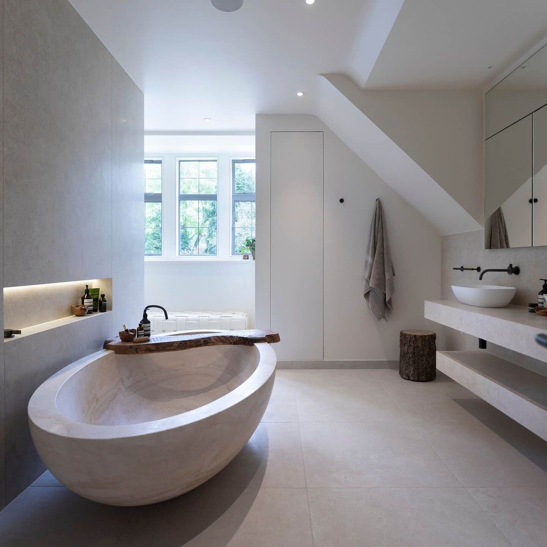 Bycocoon Posted To Instagram We Just Can T Get Enough Of This Stunning Bathroom Design At Lake View House In Cheshire It Is So N Badewanne Badezimmer Bad