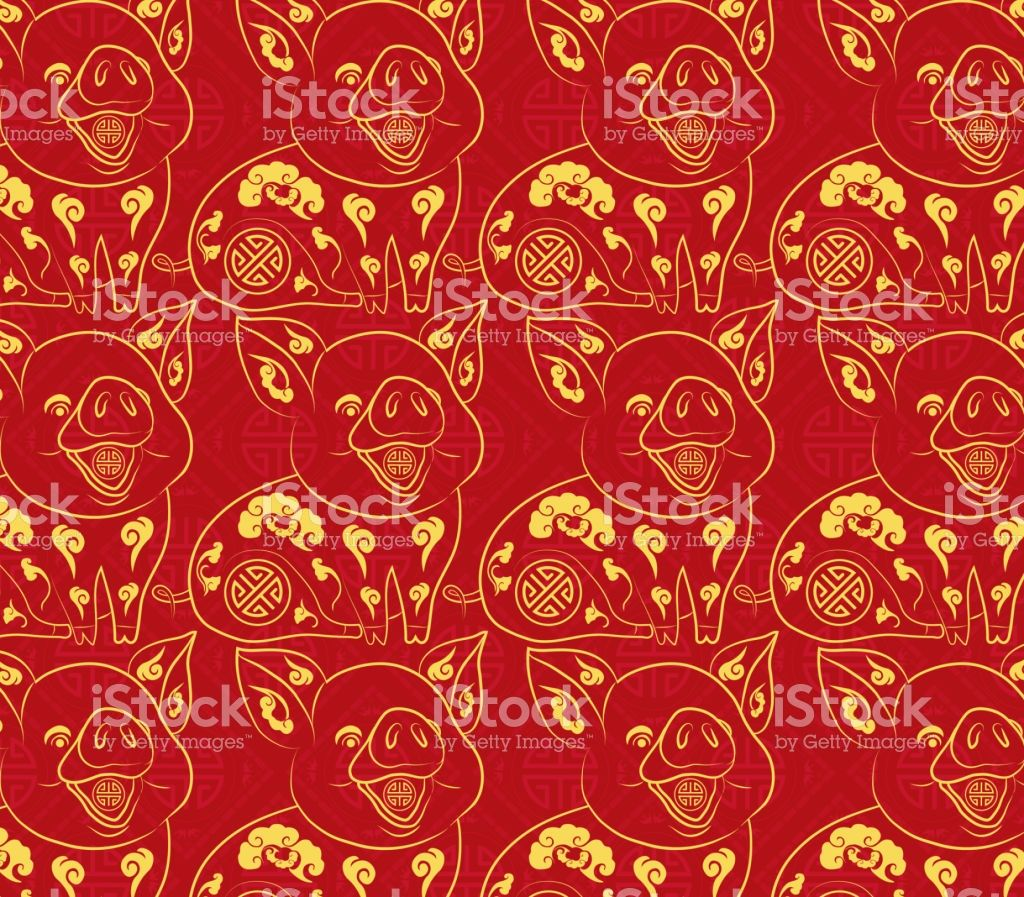 Chinese new year pattern background year of the pig royalty free chinese new year pattern background year of the pig stock vector art more images of 2019
