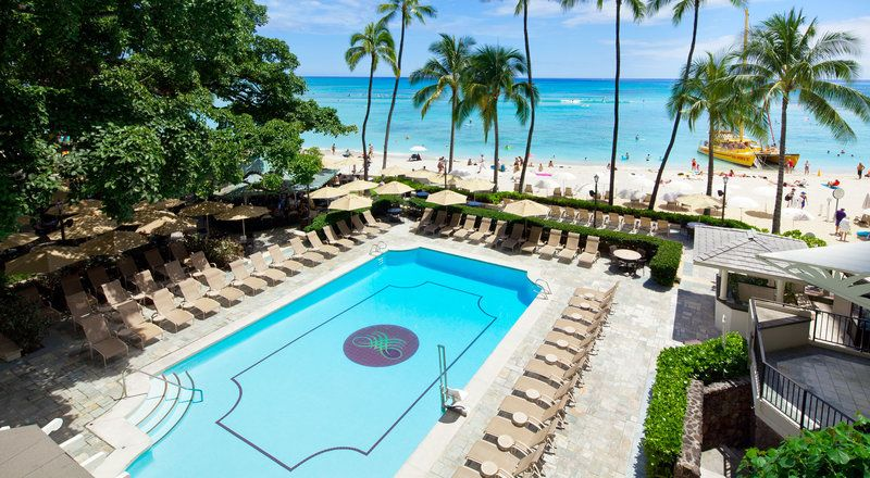 Pool At Hawaii Oahu Moana Surfrider A Westin Resort In 2019