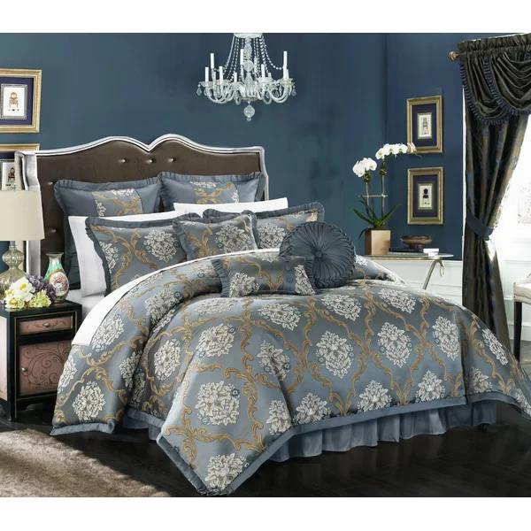 Garlock 9 Piece Comforter Set Bedroom Comforter Sets