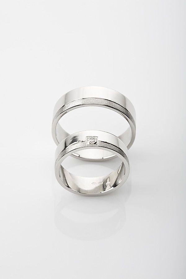 Snubni Prsteny Z Bileho Zlata Ulbrych Cz Svatebni
