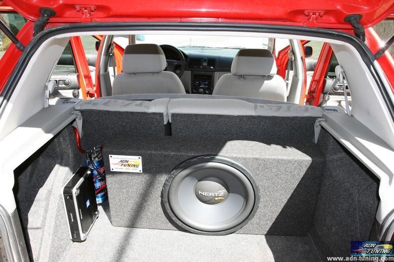 installation d 39 une sono compl te sur une golf 4 car audio pinterest. Black Bedroom Furniture Sets. Home Design Ideas
