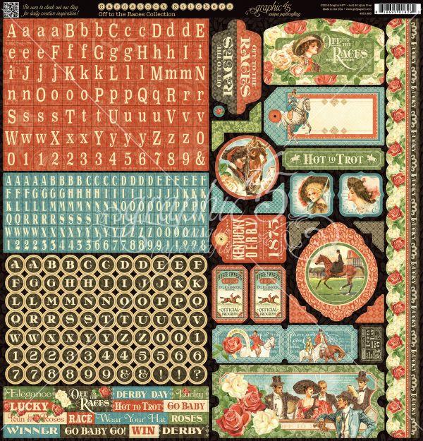 "NICHOLAS/"" 12X12 PAPER GRAPHIC 45 /""ST 12 SHEETS CHRISTMAS RETIRED SCRAPJACK/'S"