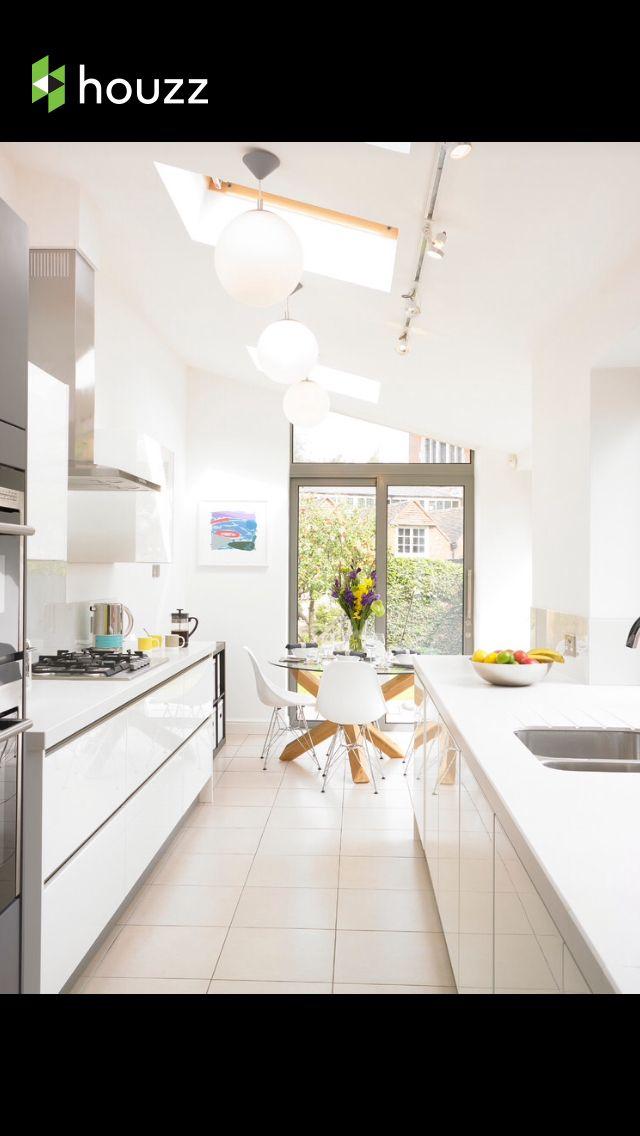 Galley kitchen - too cramped? Kitchens Pinterest Galley - Store Leroy Merlin Interieur