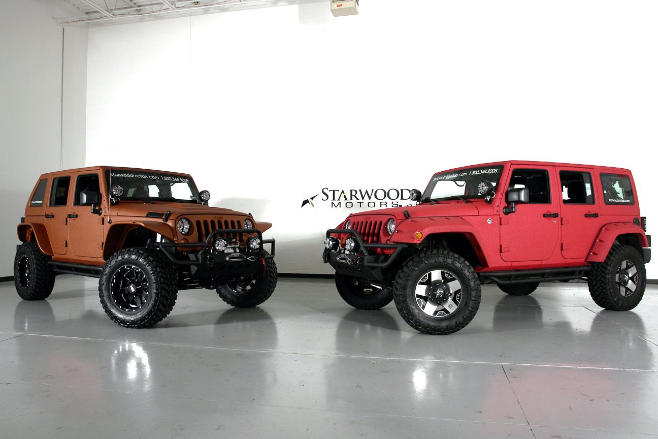 Starwood Motors Custom Jeeps Texas Vs Ou Custom Jeep Jeep