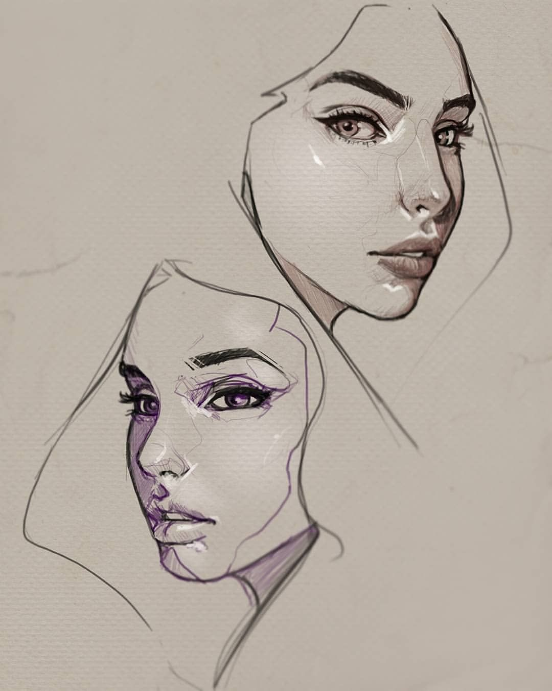 Sketch Sketchbook Doodles Drawing Pen Pendrawing Face Art Instaart Face Structure Drawing Male Face Drawing Face Drawing Reference