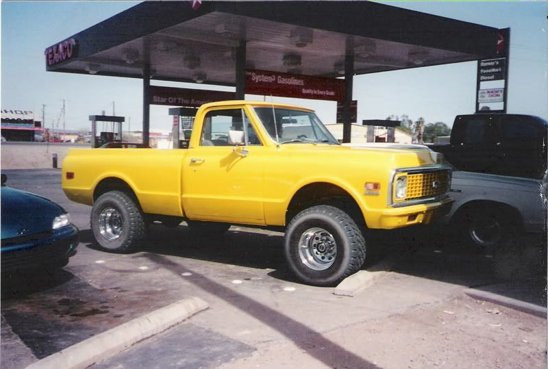 71 Chevy Truck With A Lift Chevy Trucks Chevy Pickup Trucks Chevy K10