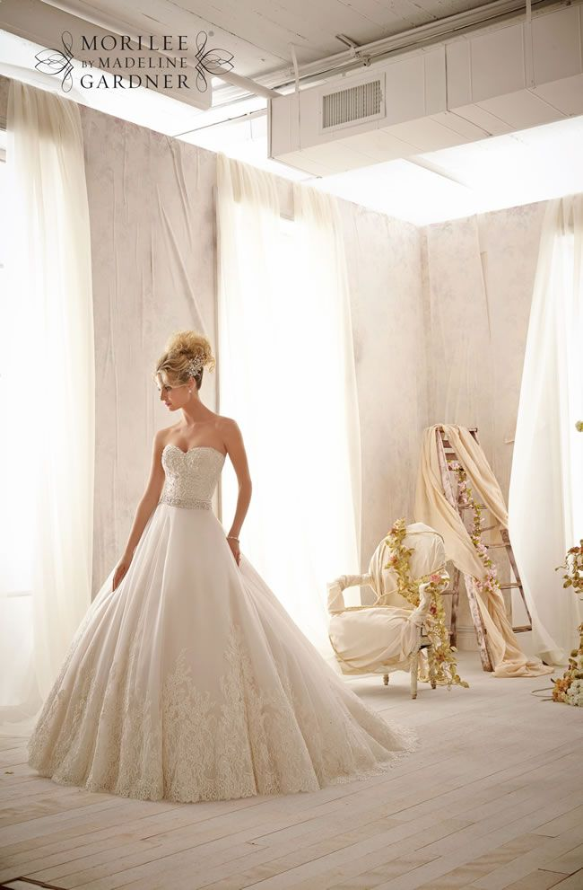 The 2014 Mori Lee bridal collection is full of sparkly princess gowns