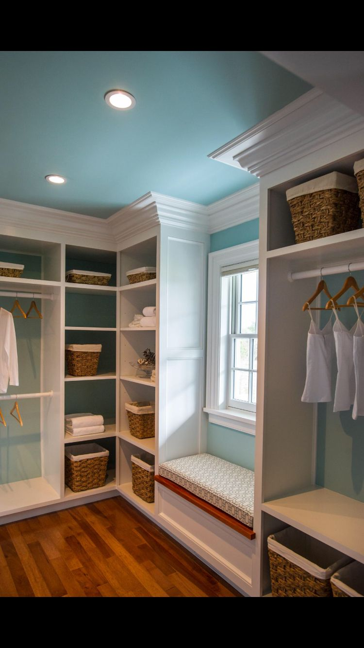 Vanity Instead Of Seating Area Bedroom Closet Design
