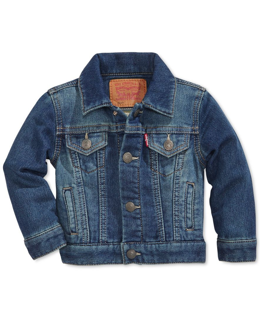 Hey Handsome This Denim Jacket Is Super Cool And Made From Soft Cotton From Levi S Cotton Machine Washable Im Boy Outfits Baby Boy Outfits Baby Jacket [ 1080 x 884 Pixel ]