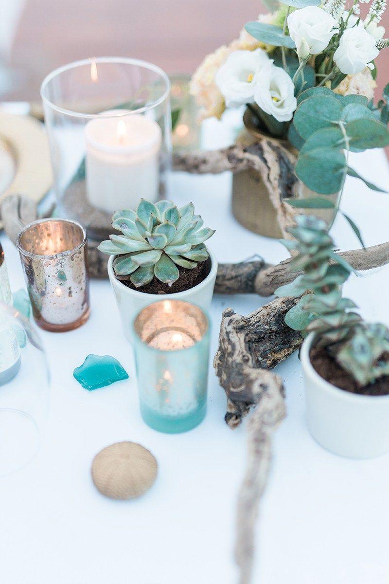 Elopement Hochzeit zu zweit in Spanien am Meer Hochzeit Strandhochzeit Tischdekoration  ~ 01163735_Sukkulenten Gastgeschenk Hochzeit