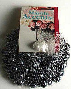 $2 19 $6 00 Panacea Lustre Black Marbles 100 Count Turn on your