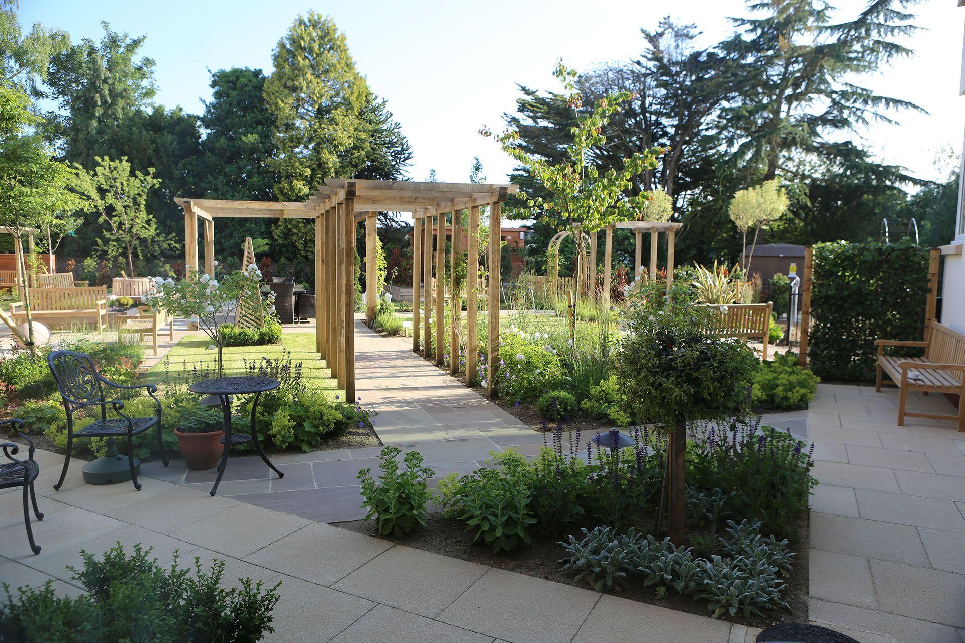 Park View Care Home Ipswich Aralia Garden Design Landscape Garden Design Landscape Design Healing Garden Design Garden Landscape Design