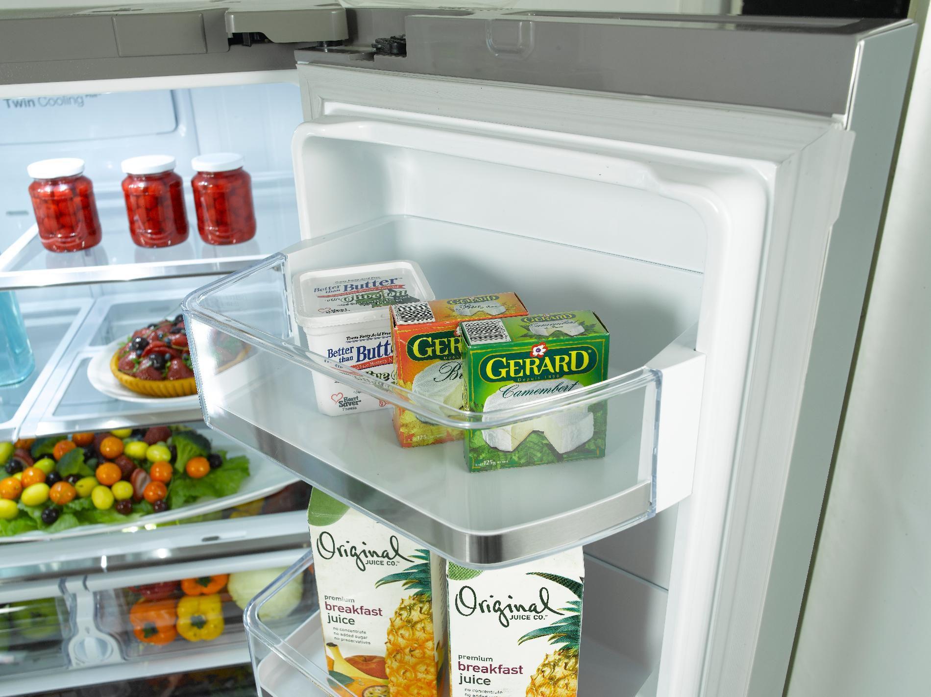 1710 Samsung Rf323tedbsr 32 Cu Ft French Door Refrigerator