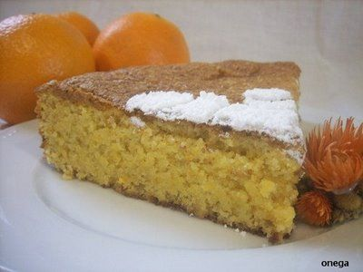 Bizcocho de almendra y naranja (sin gluten, sin lactosa)   Recetas fáciles de cocina   Magia en mi cocina