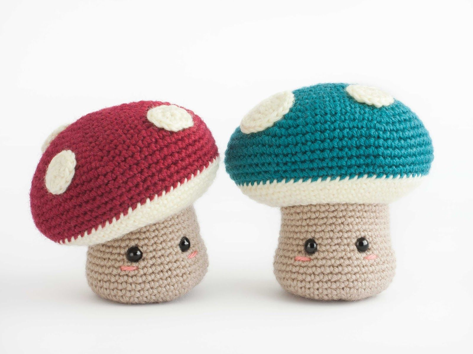 Amigurumi Mushroom Free Crochet Pattern Tutorial Chrochet