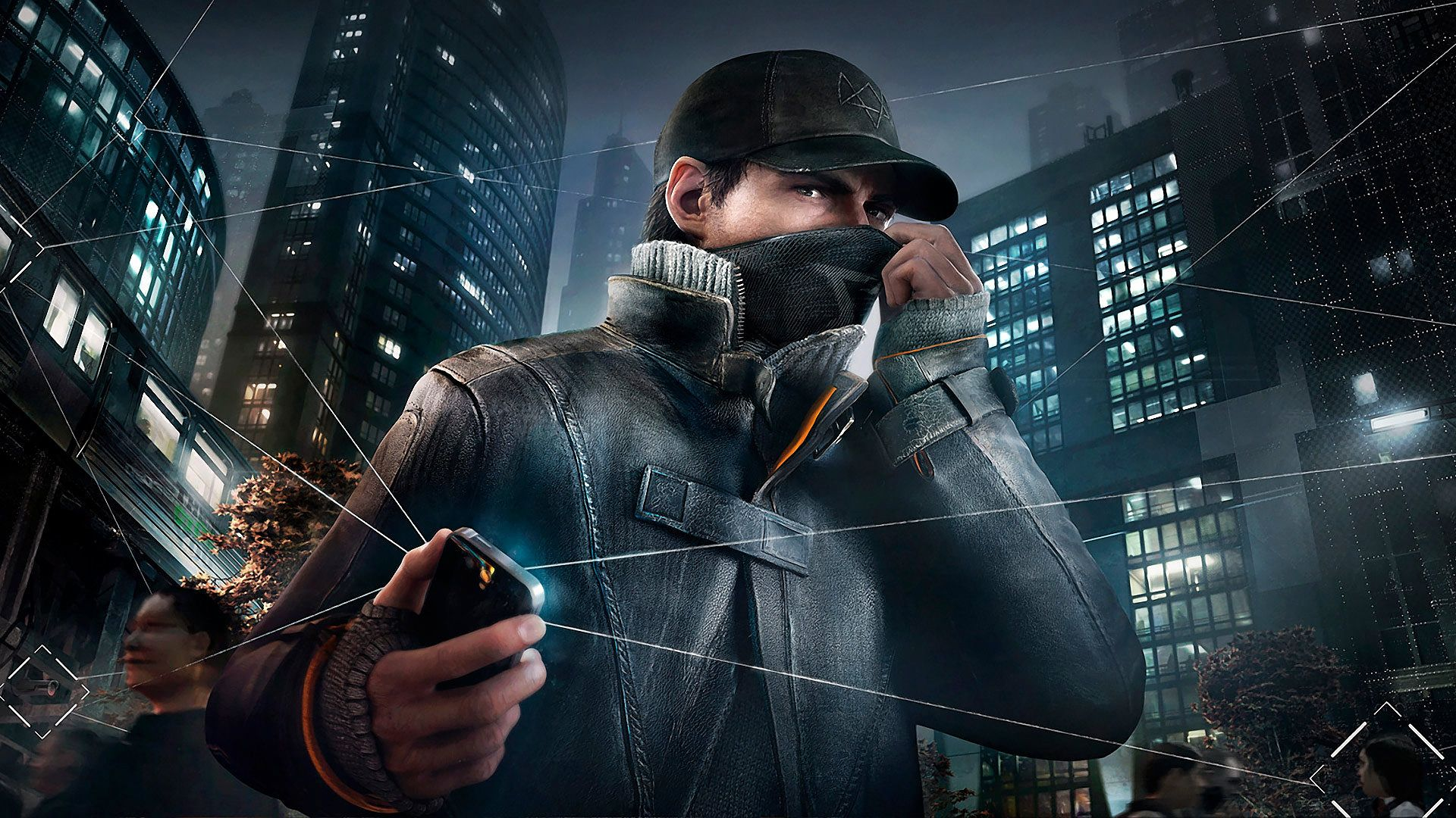 Watch Dogs Aiden Pearce Game Wallpaper Full Hd 1080p Watch Dogs