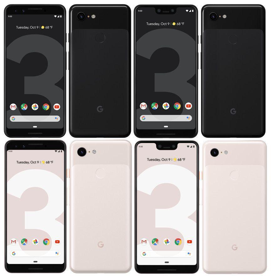 تفاصيل جديدة عن سعر ومواصفات هواتف Pixel 3 وPixel 3 XL