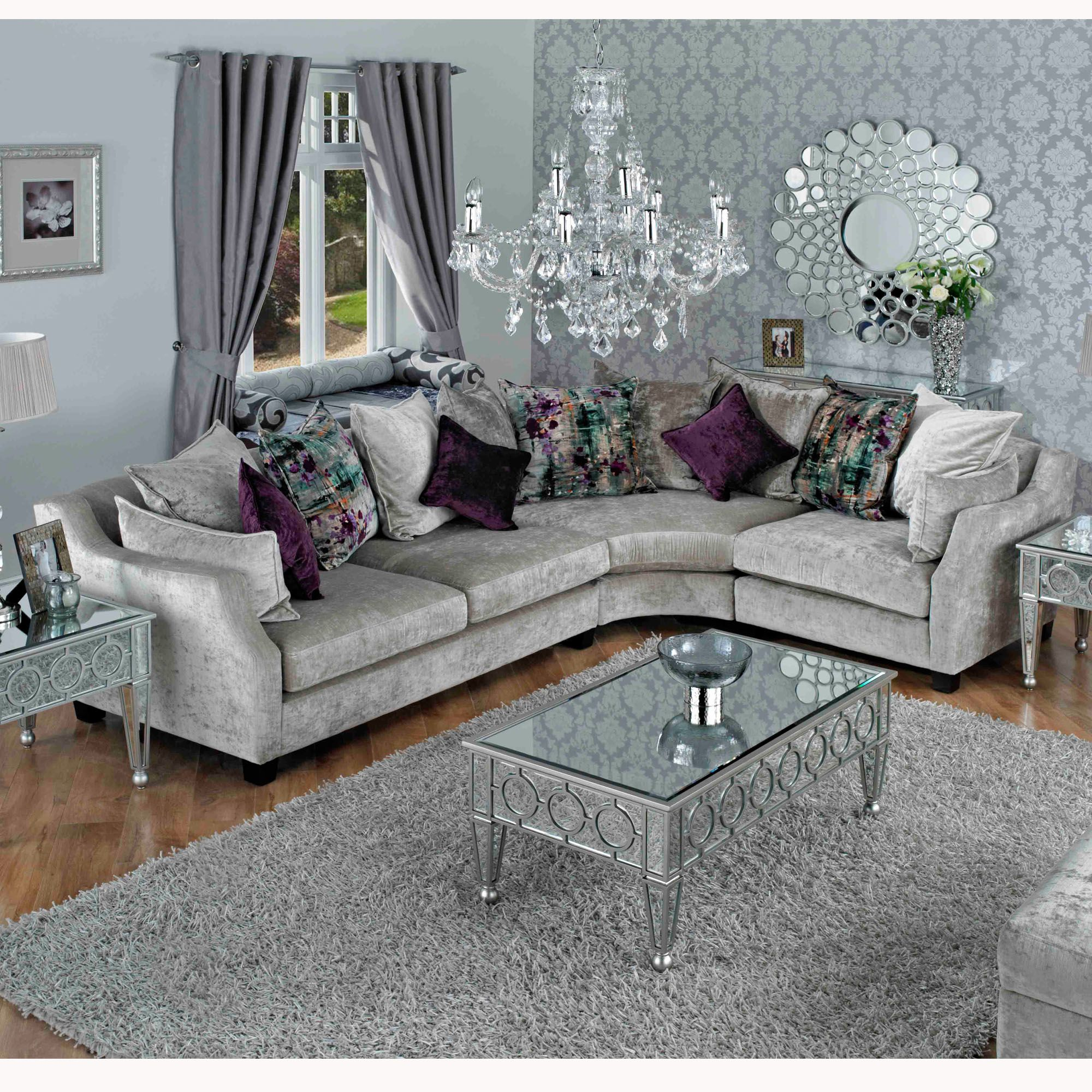 Wade Riley Corner Sofa #Velvet #Sofa #Cornersofa #Livingroom Http