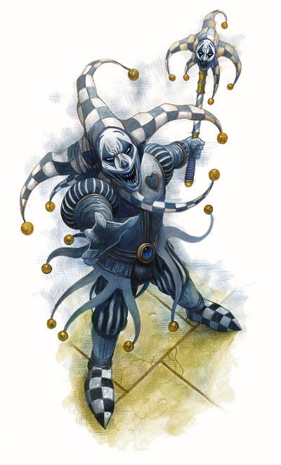 Gray Jester Rpg Creatures Pictures Court Jester Evil Jester