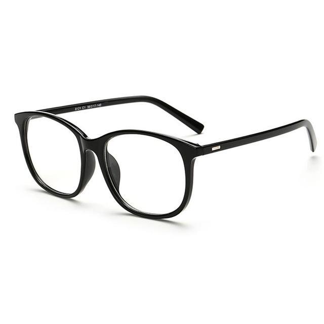 00909c6bb1 Fashion Brand Women Eyeglasses Frame Retro Vintage Clear Lens Glasses Metal  Plain Optical Eye Glasses oculos de grau feminino