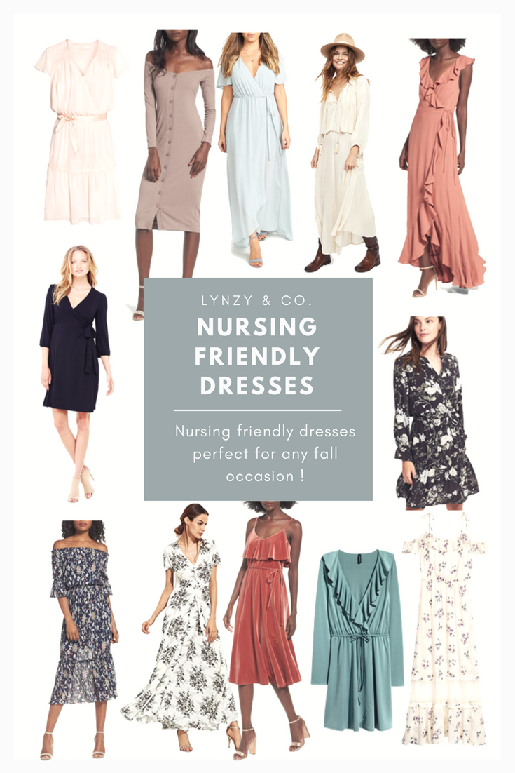 One of the most requested posts as of lately is nursing friendly dresses! A lot of you have weddings or events coming up and needed to find a nursing friendly dress for the occasion! I searched the webs to find the best ones and compiled them into one post for you! I hope that you find this post helpful and if you end up wearing them to an event, I would love to see it on you! Send me a message over on Instagram because I love to share examples of these items on others too! Have fun shopp...