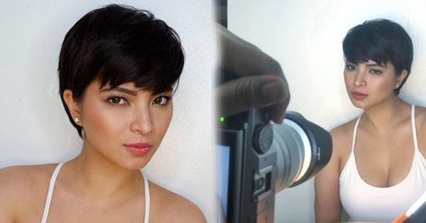 Angel Locsin Rocks A New Pixie Cut Which Will Make All The Ladies