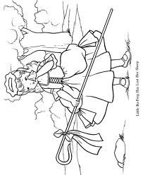Little Bo Peep Little Bo Peep Coloring Pages Nursery Rhymes