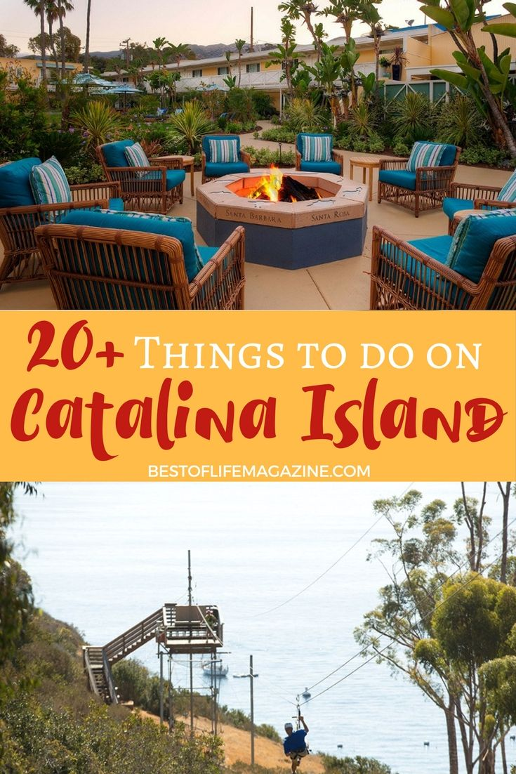 There Are So Many Things To Do On Catalina Island That Make It A Perfect Weekend Or Week Long Trip For You And Your Family Friends