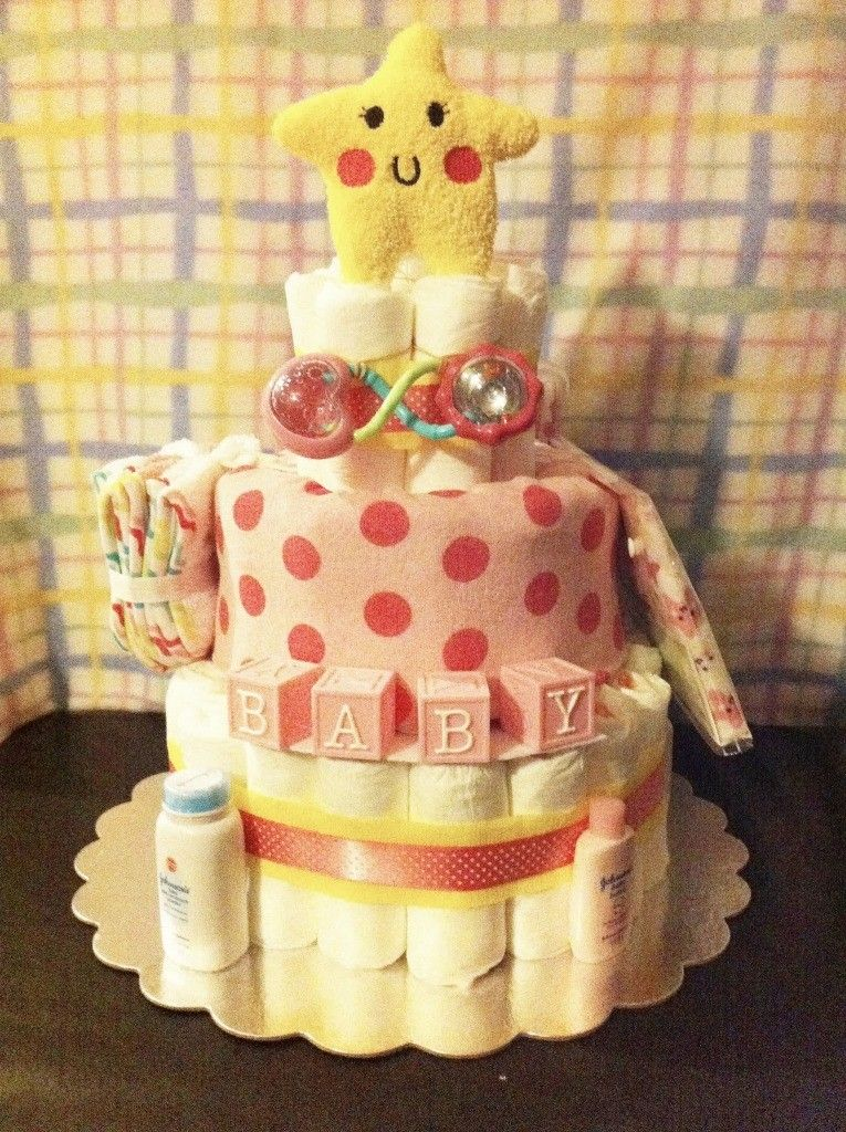 Latest san diego baby girl diaper cakes sarah cake design