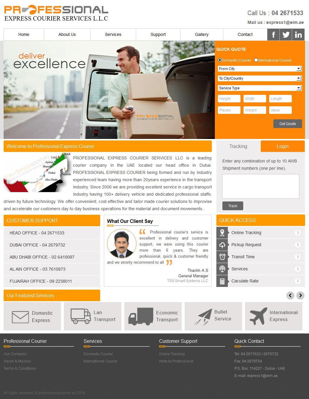 Professional Express Courier Services, Llc 13, 7 Street G
