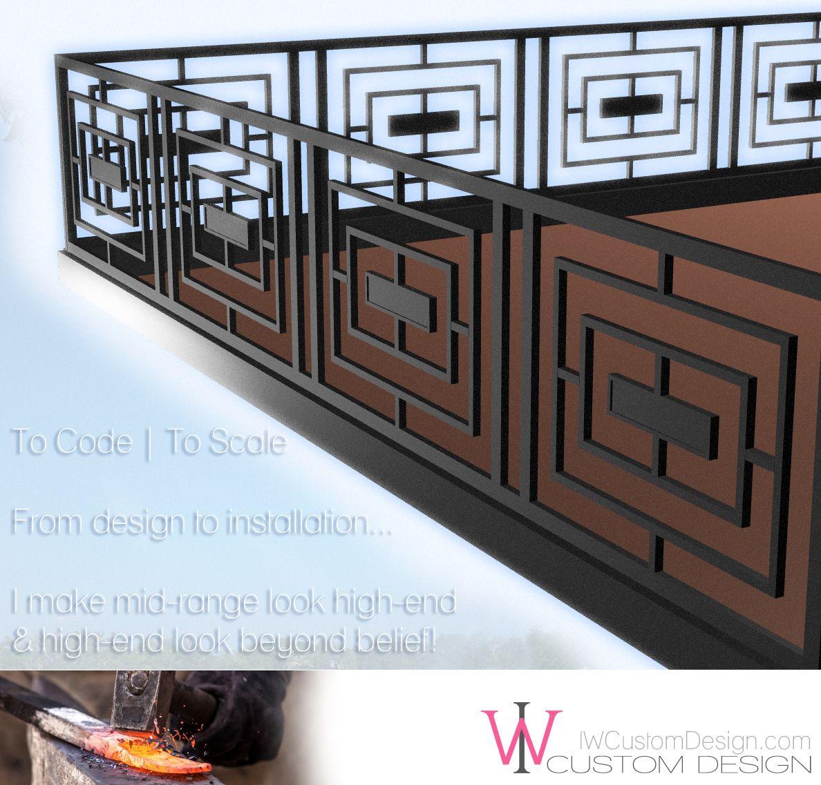 Railing design   Solomon - Porches   Pinterest   Fer forg ...