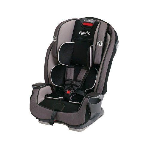 Graco Milestone All-In-One Convertible Car Seat $174.99 (Black ...