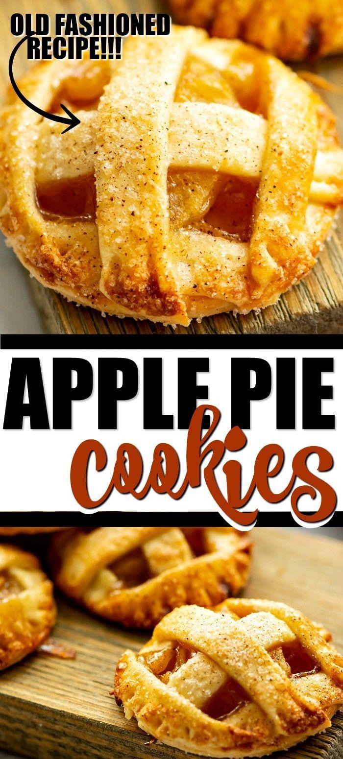 Apple Pie Cookies {EASY RECIPE} #applepierecipe Apple Pie Cookies {EASY RECIPE} #applepierecipe