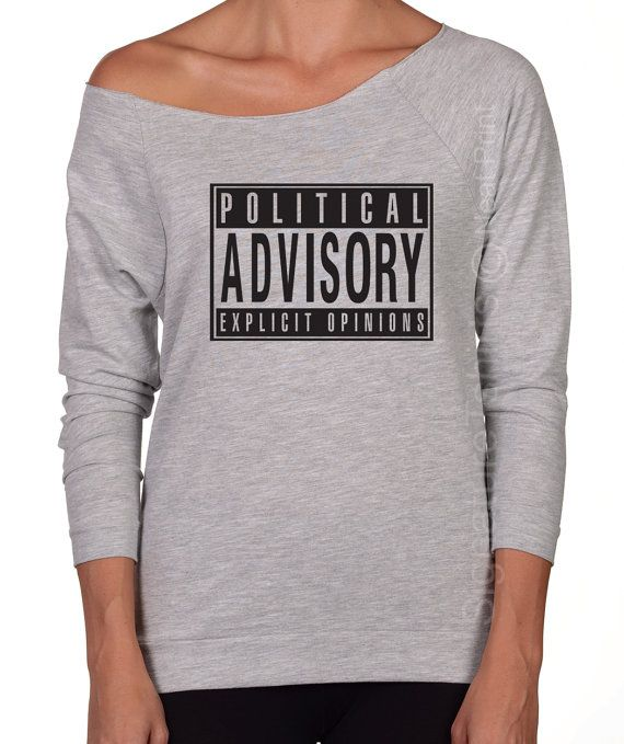 d3e111f67 Political Advisory Explicit Opinions Off the by signaturetshirts Raw Edge,  Funny Gifts, Off The