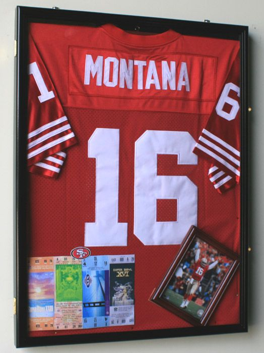 Shadow Box With Ian S Jersey Framed Jersey Shadow Box