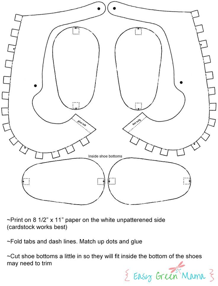 Template For Paper Baby Shoes Baby Shoes Tutorial Paper Shoes Shoe Template