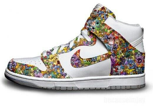 on sale 82a2b e2155 POKEMON SHOE!!!!   Shoes Hats Jackets Etc   Sneakers nike, Sneakers ...