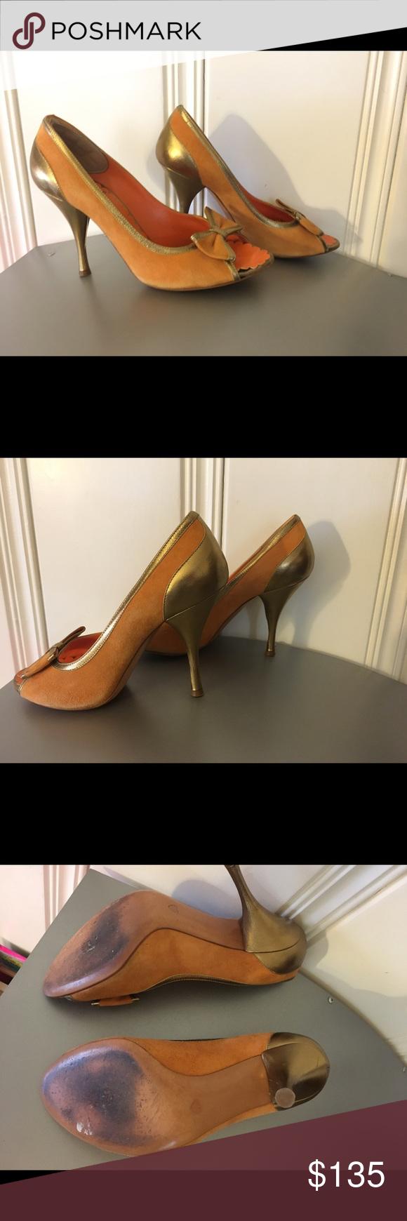 Moschino cheapandchic Open toe shoes Moschino Shoes Heels