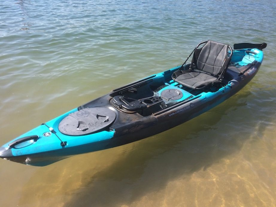 Tarpon 130x the boat we love with a topside design we for Wilderness systems fishing kayaks