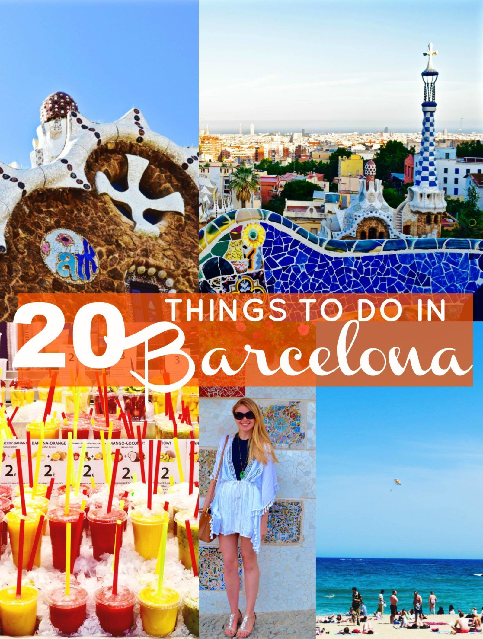 20 Things To Do In Barcelona Barcelona Barcelona Travel Things