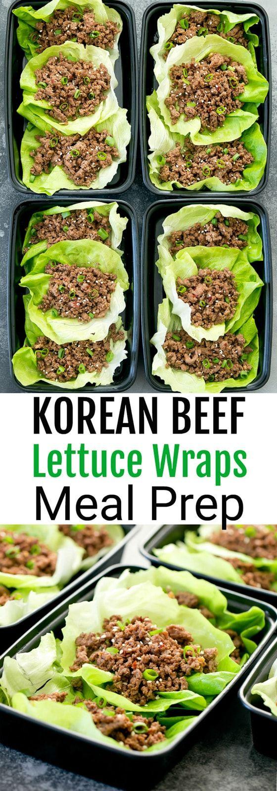 Easy Korean Beef Lettuce Wraps Kirbie S Cravings Recipe Beef Lettuce Wraps Healthy Beef Recipes Healthy Ground Beef