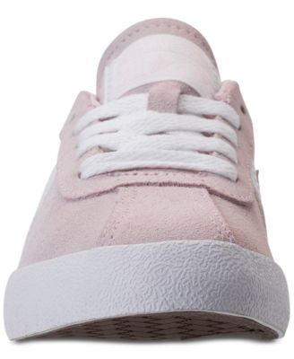 4449a424ee4407 Converse Girls  Breakpoint Suede Casual Sneakers from Finish Line - Pink 5.5