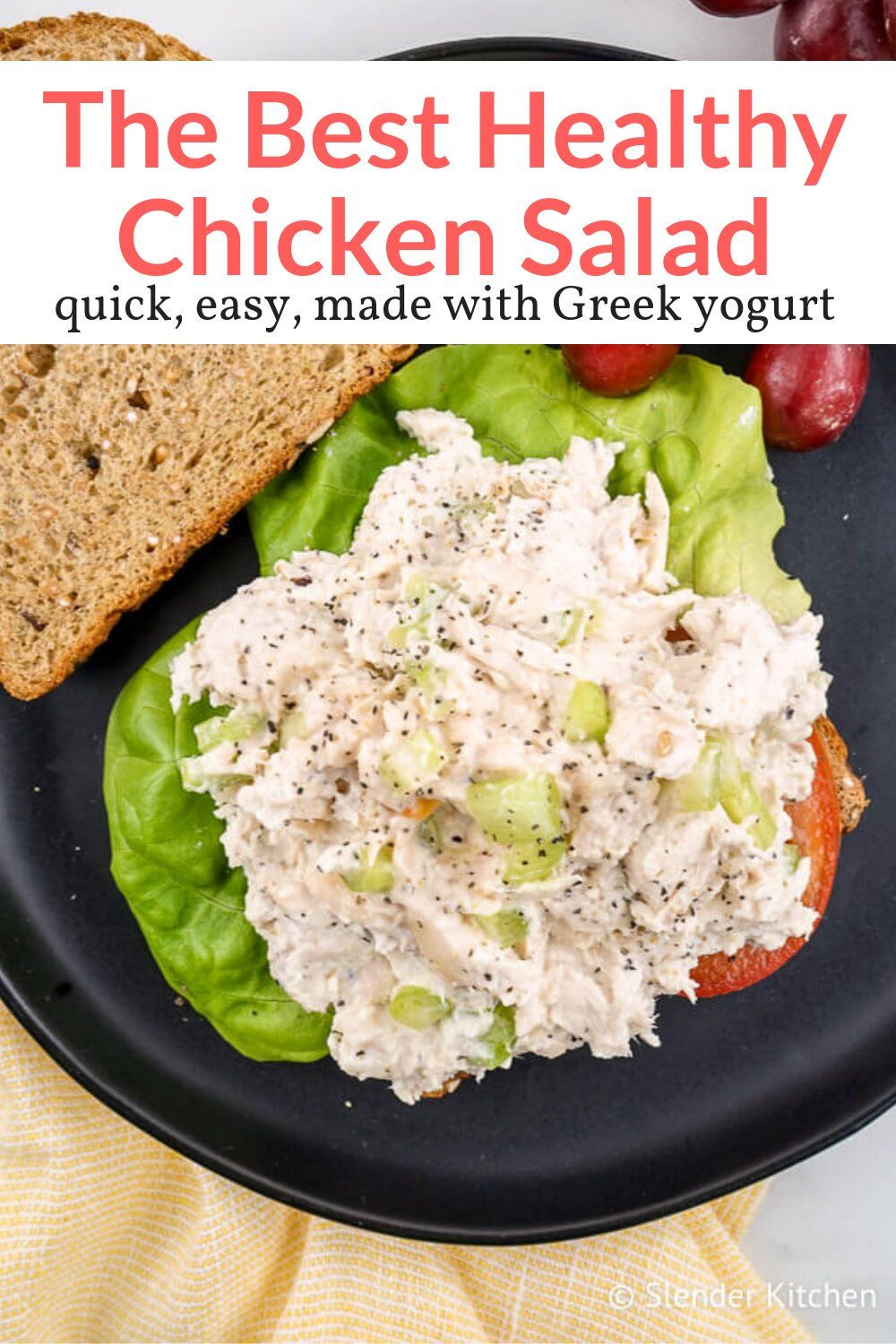 Healthy Chicken Salad #healthyrecipes